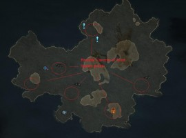 Caverns of Frost spawnpoints (from diablowiki.net)
